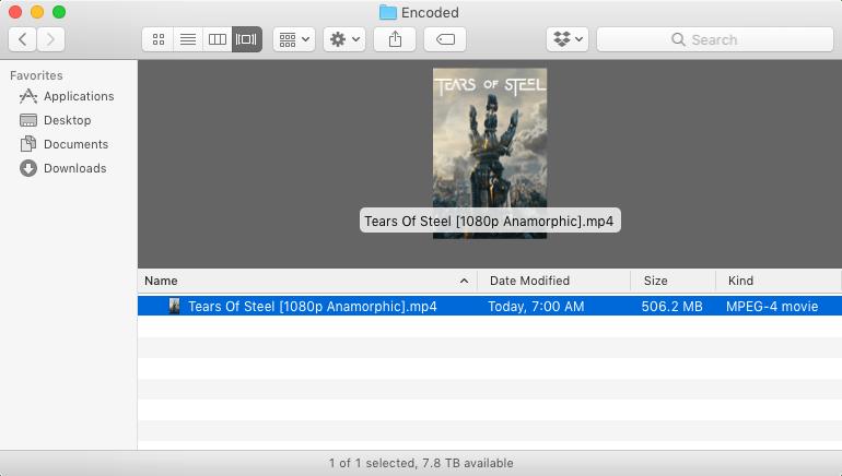 HandBrake Documentation — Quick start