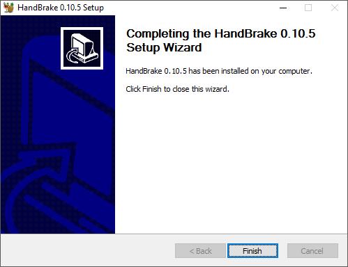 HandBrake Documentation — Downloading and installing HandBrake